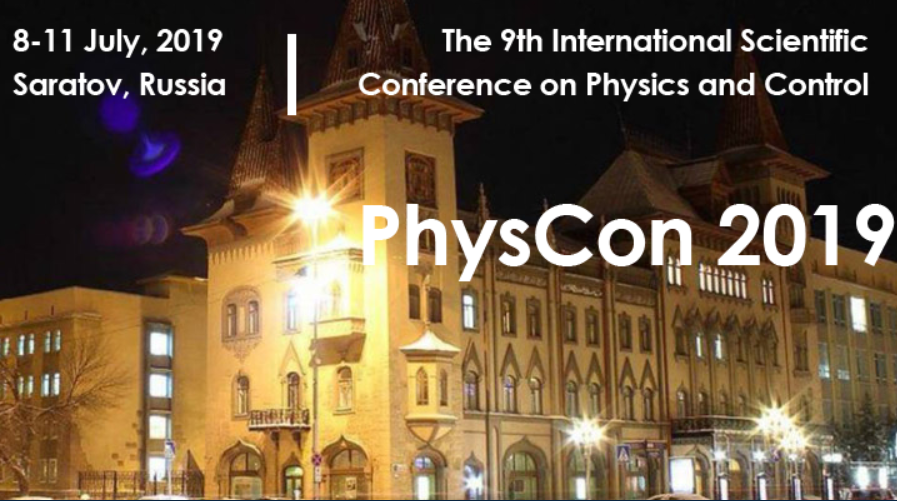 The 9th International Scientific Conference on Physics and Control